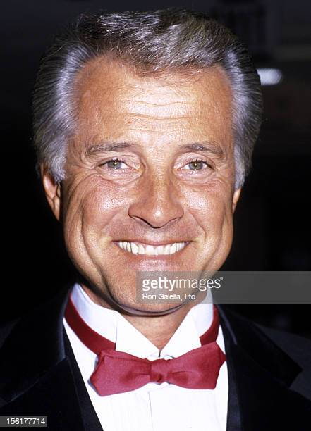 Actor Lyle Waggoner attends 31st Annual Thalian's Ball on October 11 1986 at the Century Plaza Hotel in Century City California