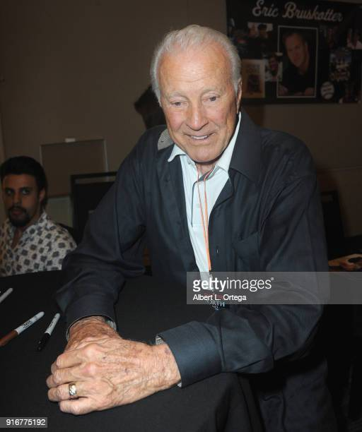 Actor Lyle Waggoner attends The Hollywood Show held at Westin LAX Hotel on February 10 2018 in Los Angeles California