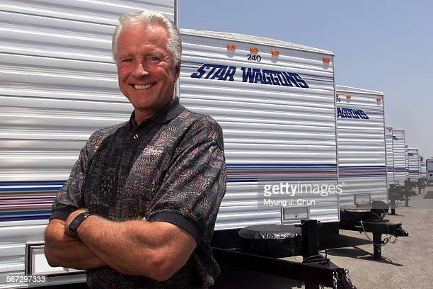 Actor Lyle Waggoner owns the Sylmar–based Star Waggons that provides trailers for movie productions He began the business 20–years–ago DIGITAL IMAGE...
