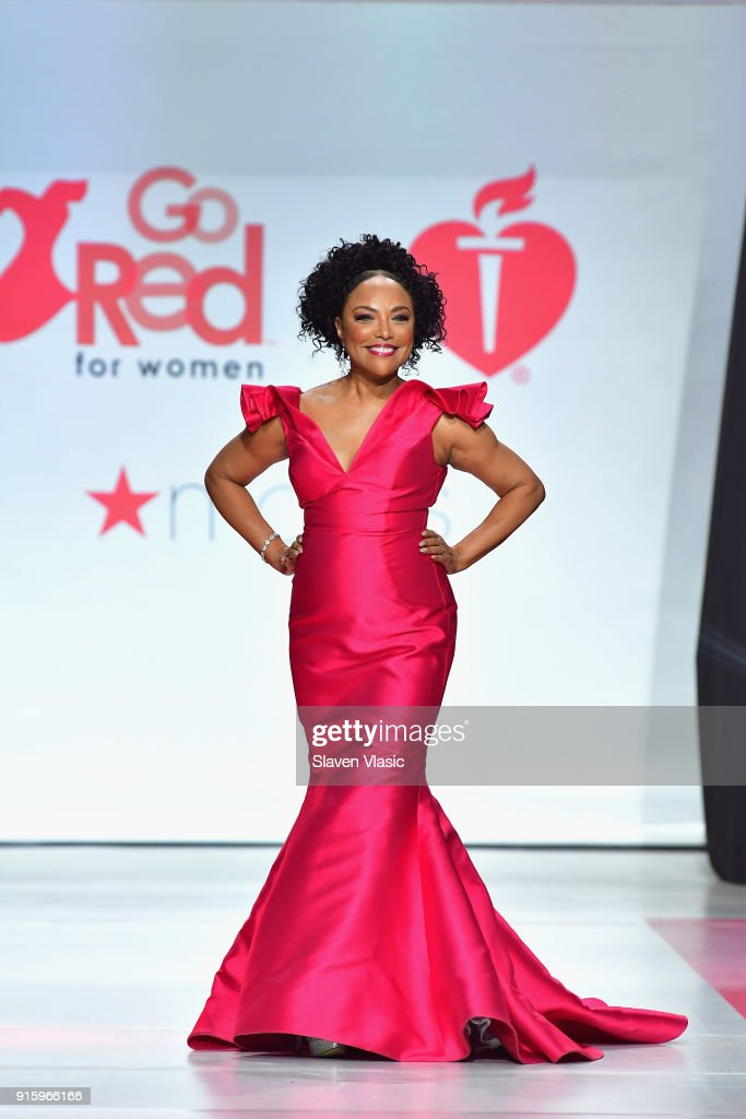 Actor Lynn Whitfield onstage at the American Heart Association's Go Red For Women Red Dress Collection 2018 presented by Macy's at Hammerstein Ballroom on February 8, 2018 in New York City.