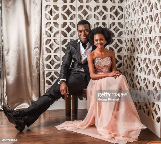 Actor Lyriq Bent and actress Shailyn PierreDixon pose at the 2016 Canadian Screen Awards Portrait Studio at the Sony Centre for the Performing Arts...