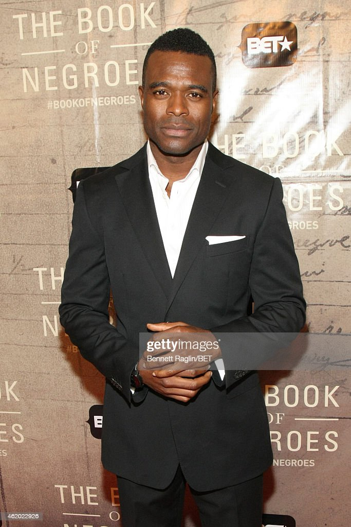 Actor Lyriq Bent attends 'The Book of Negroes' screening reception at The National Archives on January 22, 2015 in Washington, DC.