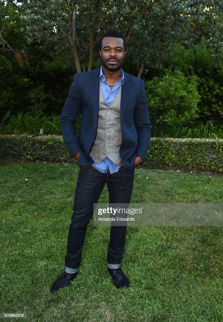 Actor Lyriq Bent attends the premiere of 'Mary Kills People' at the Official Residence Of Canada on April 20, 2017 in Los Angeles, California.