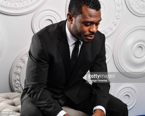 Actor Lyriq Bent poses in the ETalk Portrait Studio at the 2017 Canadian Screen Awards at the Sony Centre For Performing Arts on March 12 2017 in...