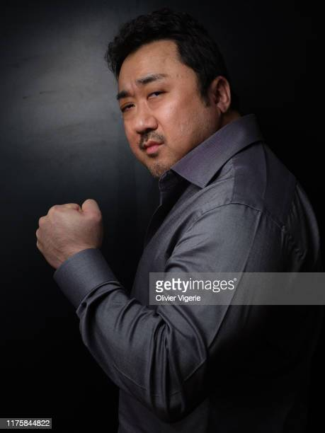Actor Ma Dong-Seok from the movie 'The Gangster, The Devil, The Cop' poses for a portrait on May 23, 2019 in Cannes, France.