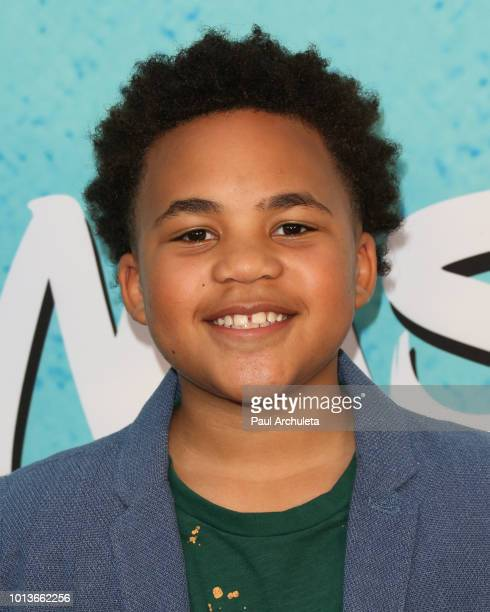 Actor Maceo Smedley attends the screening of Netflix's 'All About The Washingtons' at Madera Kitchen Bar on August 8 2018 in Hollywood California
