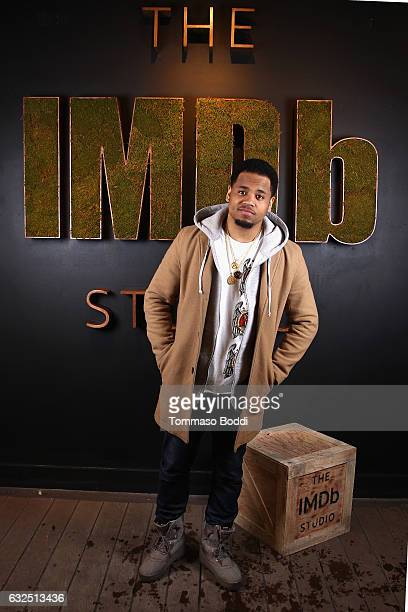 Actor Mack Wilds of 'Shots Fired' attends The IMDb Studio featuring the Filmmaker Discovery Lounge presented by Amazon Video Direct Day Four during...