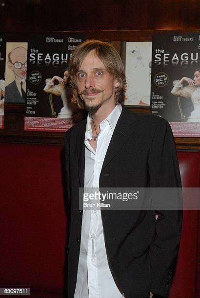 Actor Mackenzie Crook attends the after party for the opening night of The Seagull on Broadway at Sardi's on October 2 2008 in New York City