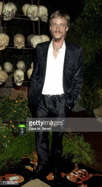Actor Mackenzie Crook attends the after show party following the European Premiere of Pirates Of The Caribbean 2 Dead Man's Chest at the Old...