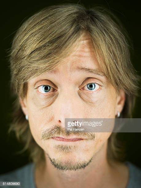 Actor Mackenzie Crook is photographed for the Observer on October 9 2015 in London England