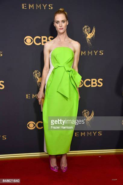 Actor Mackenzie Davis attends the 69th Annual Primetime Emmy Awards at Microsoft Theater on September 17 2017 in Los Angeles California