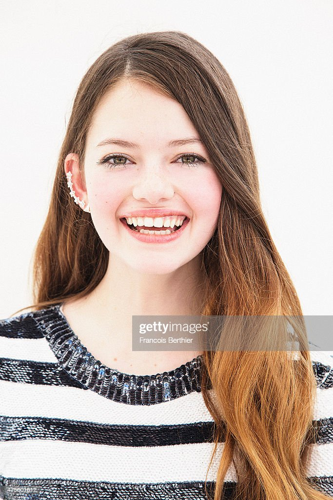 Actor Mackenzie Foy is photographed on May 23, 2015 in Cannes, France.