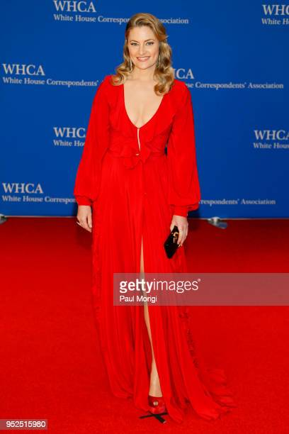 Actor Madchen Amick attends the 2018 White House Correspondents' Dinner at Washington Hilton on April 28 2018 in Washington DC