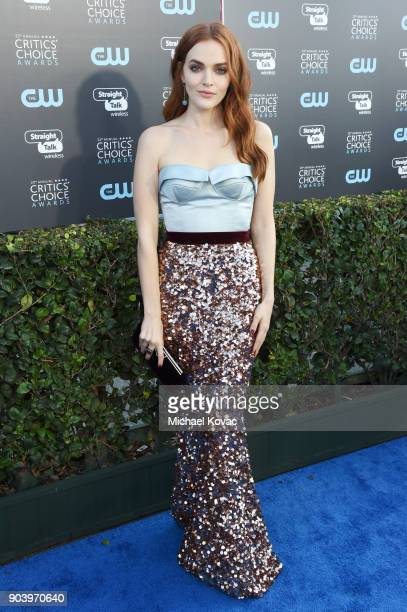 Actor Madeline Brewer attends Moet Chandon celebrate The 23rd Annual Critics' Choice Awards at Barker Hangar on January 11 2018 in Santa Monica...