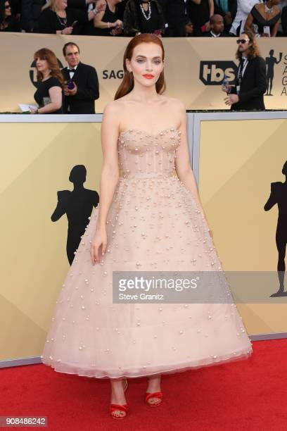 Actor Madeline Brewer attends the 24th Annual Screen Actors Guild Awards at The Shrine Auditorium on January 21 2018 in Los Angeles California
