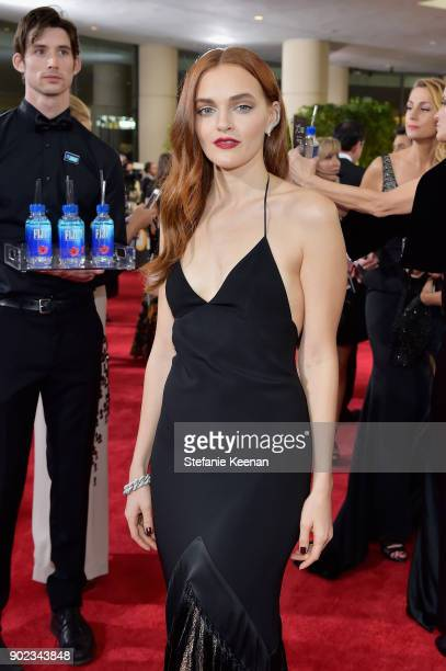Actor Madeline Brewer attends The 75th Annual Golden Globe Awards at The Beverly Hilton Hotel on January 7 2018 in Beverly Hills California