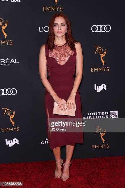 Actor Madeline Brewer attends the Television Academy Honors Emmy Nominated Performers at Wallis Annenberg Center for the Performing Arts on September...