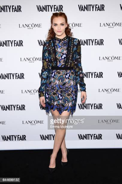 Actor Madeline Brewer attends Vanity Fair and Lancome Toast to The Hollywood Issue at Chateau Marmont on February 23 2017 in Los Angeles California