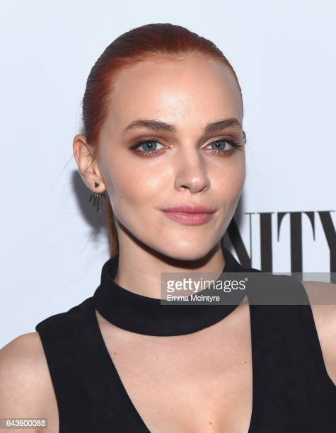 Actor Madeline Brewer attends Vanity Fair and L'Oreal Paris Toast to Young Hollywood hosted by Dakota Johnson and Krista Smith at Delilah on February...