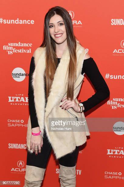 Actor Madison David attends The Tale Premiere during 2018 Sundance Film Festival at Eccles Center Theatre on January 20 2018 in Park City Utah