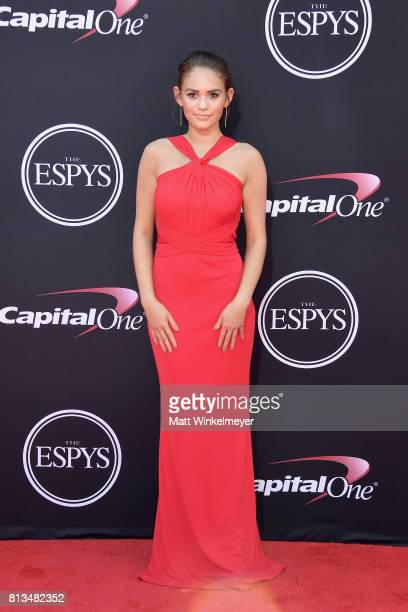 Actor Madison Pettis attends The 2017 ESPYS at Microsoft Theater on July 12 2017 in Los Angeles California