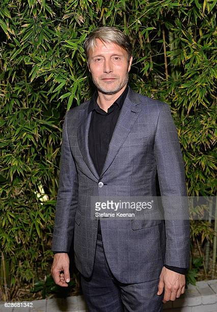 Actor Mads Mikkelsen attends the 2016 GQ Men of the Year Party at Chateau Marmont on December 8 2016 in Los Angeles California