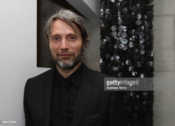 Actor Mads Mikkelsen attends the after show party to the Germany film premiere of 'Die Tuer' on November 25, 2009 in Berlin, Germany.