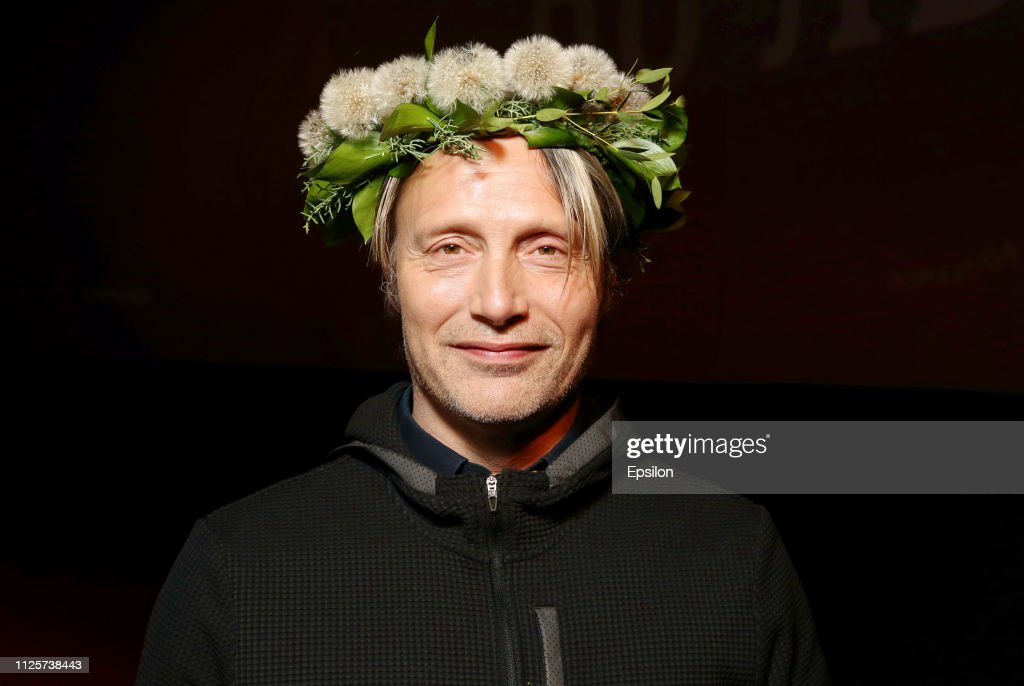 RUS: Actor Mads Mikkelsen 'Arctic' Russian Premiere