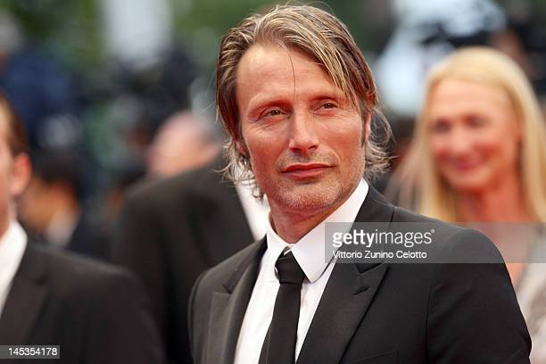 """Actor Mads Mikkelsen attends the Closing Ceremony and """"Therese Desqueyroux"""" premiere during the 65th Annual Cannes Film Festivalon May 27, 2012 in..."""