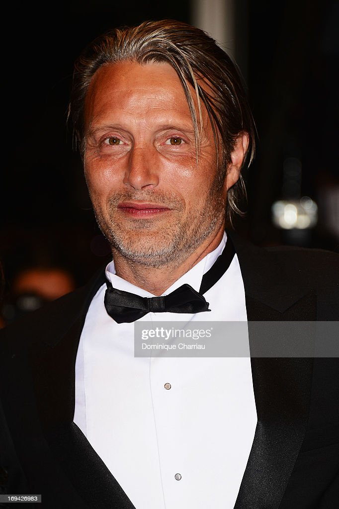 Actor Mads Mikkelsen attends the Premiere of 'Michael Kohlhaas' at The 66th Annual Cannes Film Festival at Palais des Festivals on May 24, 2013 in Cannes, France.