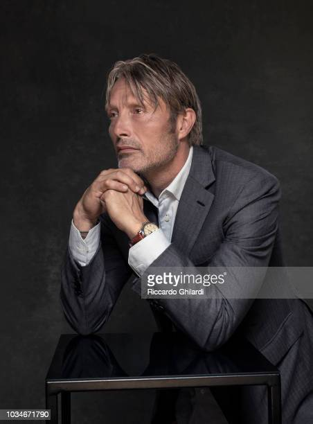 Actor Mads Mikkelsen is photographed for Self Assignment, on August, 2018 in Venice, Italy. . .