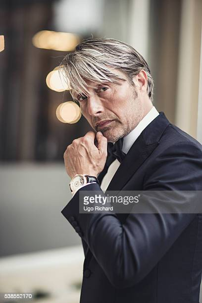 Actor Mads Mikkelsen is photographed for Self Assignment on May 15, 2016 in Cannes, France.