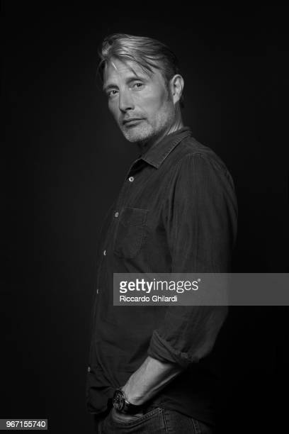 Actor Mads Mikkelsen is photographed for Self Assignment on May 2018 in Cannes France