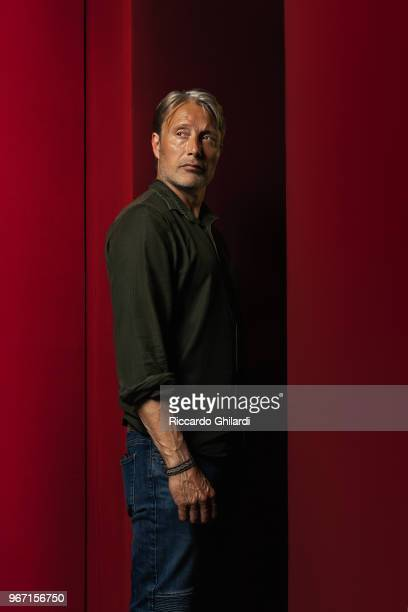 Actor Mads Mikkelsen is photographed for Self Assignment, on May, 2018 in Cannes, France. . .
