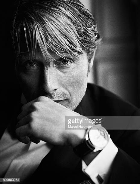 Actor Mads Mikkelsen is photographed for Vanity Fair Italy on May 16 2016 in Cannes France