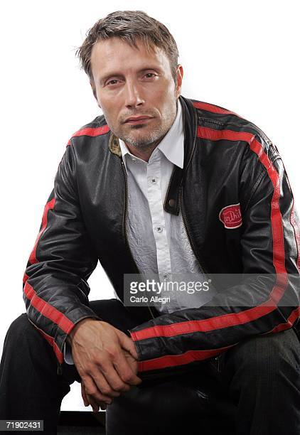 """Actor Mads Mikkelsen of the film """"After The Wedding"""" poses for portraits in the Chanel Celebrity Suite at the Four Season hotel during the Toronto..."""