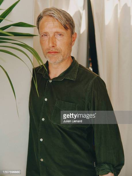 Actor Mads Mikkelsen poses for a portrait on May, 2018 in Cannes, France. .