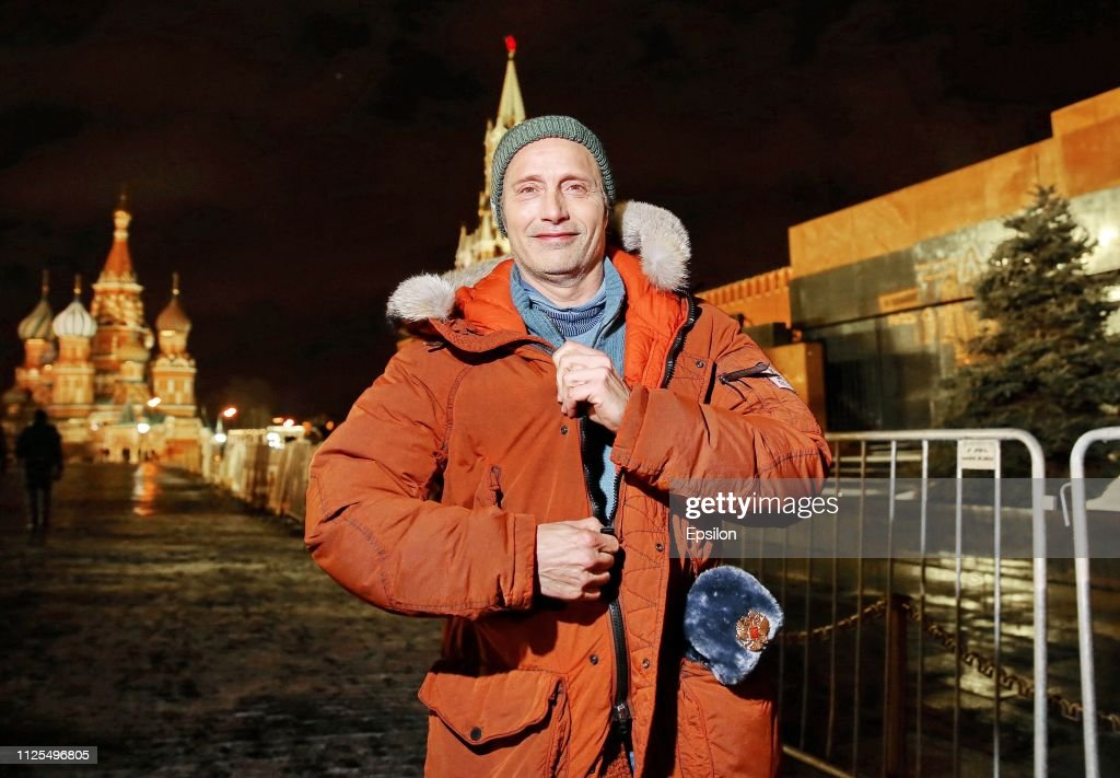 Actor Mads Mikkelsen visit In Moscow : News Photo
