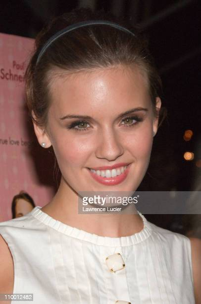 Actor Maggie Grace arrives at the New York screening of Lars And The Real Girl October 3 at the Paris Theater in New York City