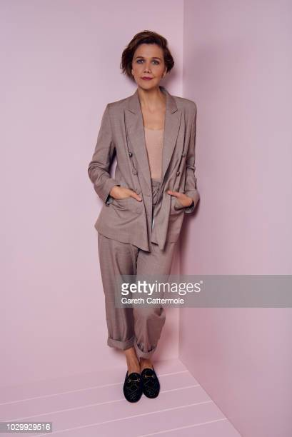 Actor Maggie Gyllenhaal from the film 'The Kindergarten Teacher' poses for a portrait during the 2018 Toronto International Film Festival at...