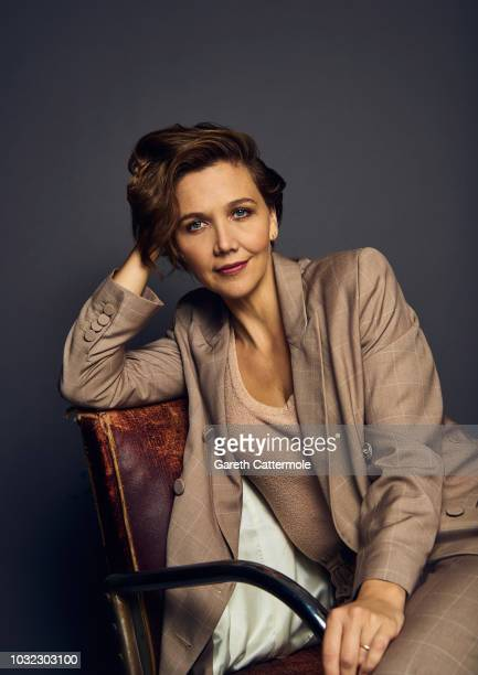 Actor Maggie Gyllenhaal from the film 'The Kindergarten Teacher'' poses for a portrait during the 2018 Toronto International Film Festival at...
