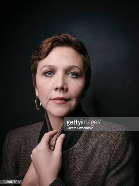 Actor Maggie Gyllenhaal is photographed on October 18 2018 in London England