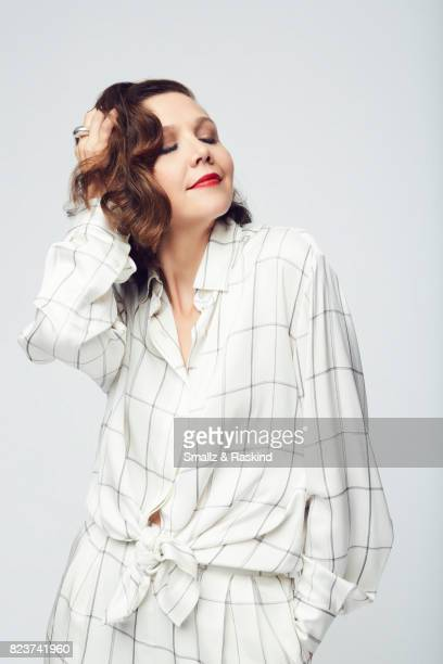 Actor Maggie Gyllenhaal poses for portrait session at the 2017 Summer TCA session for HBO's 'The Deuce' on July 27 2017 in Beverly Hills California