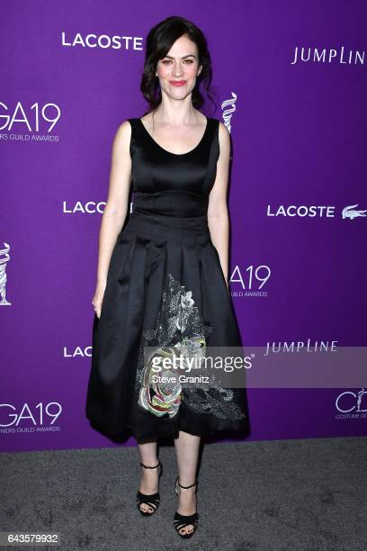 Actor Maggie Siff attends The 19th CDGA with Presenting Sponsor LACOSTE at The Beverly Hilton Hotel on February 21 2017 in Beverly Hills California