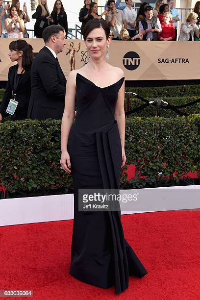Actor Maggie Siff attends the 23rd Annual Screen Actors Guild Awards at The Shrine Expo Hall on January 29, 2017 in Los Angeles, California.