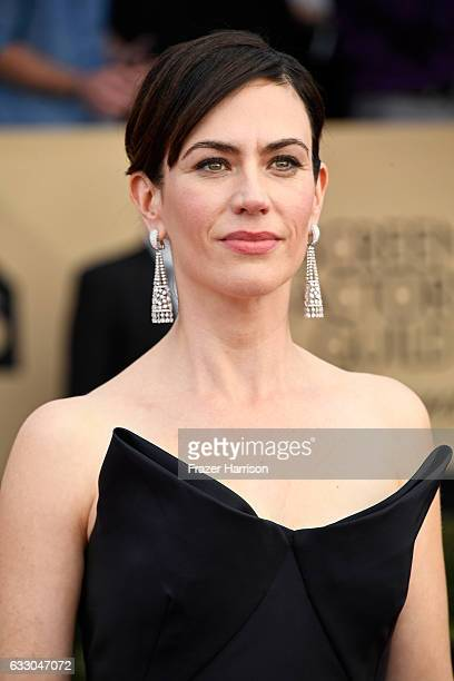 Actor Maggie Siff attends The 23rd Annual Screen Actors Guild Awards at The Shrine Auditorium on January 29 2017 in Los Angeles California 26592_008