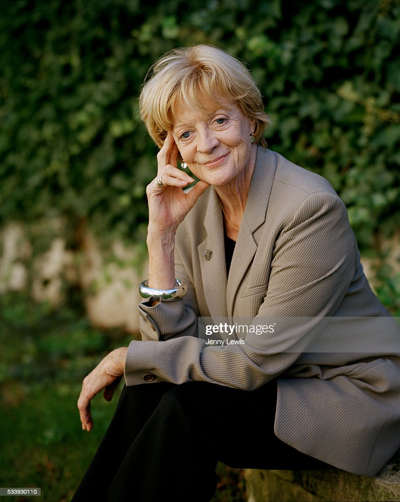 Actor Maggie Smith is photographed for the Telegraph on May 6, 2009 in London, England.