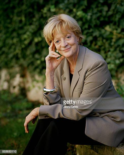 Actor Maggie Smith is photographed for the Telegraph on May 6 2009 in London England