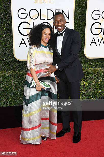 Actor Mahershala Ali and Amatus SamiKarim attend 74th Annual Golden Globe Awards held at The Beverly Hilton Hotel on January 8 2017 in Beverly Hills...