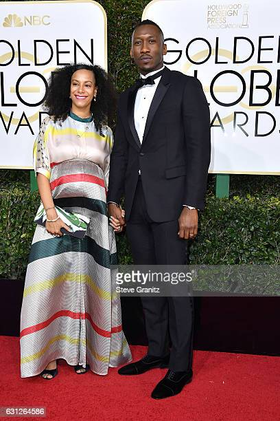 Actor Mahershala Ali and Amatus SamiKarim attends the 74th Annual Golden Globe Awards at The Beverly Hilton Hotel on January 8 2017 in Beverly Hills...